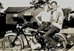 Gene, Gaylon & his Triumph